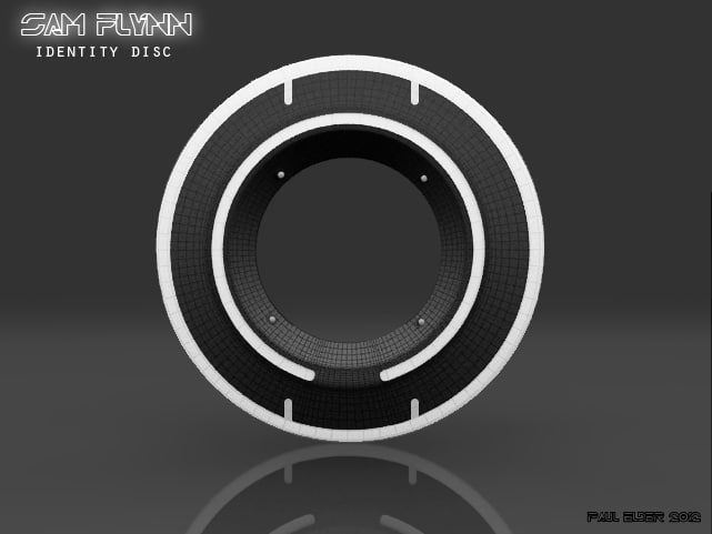 3d model id disc tron