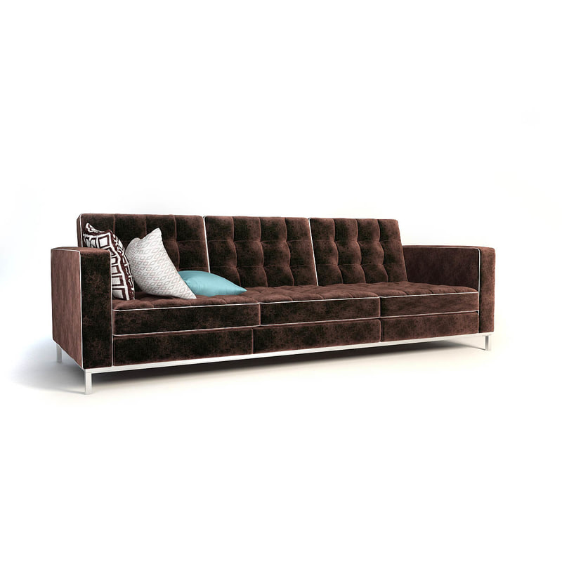 max florence knoll 3 seater