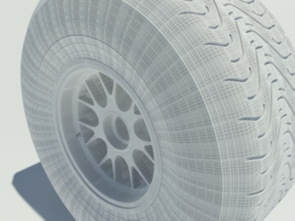 3d model pirelli intermediate tyre
