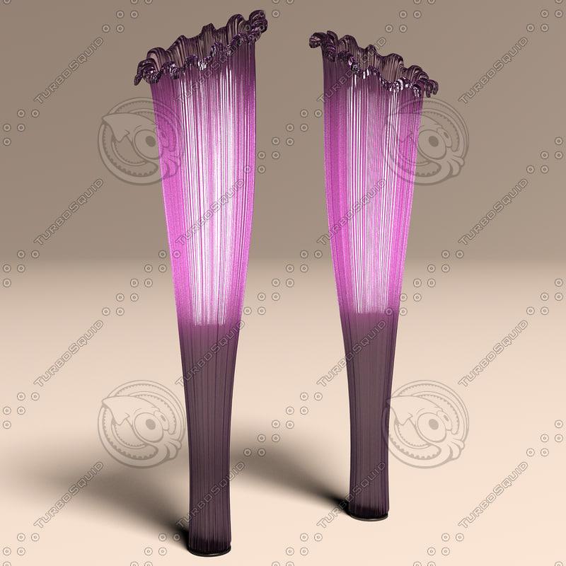 aqua creations horn floor lamp max