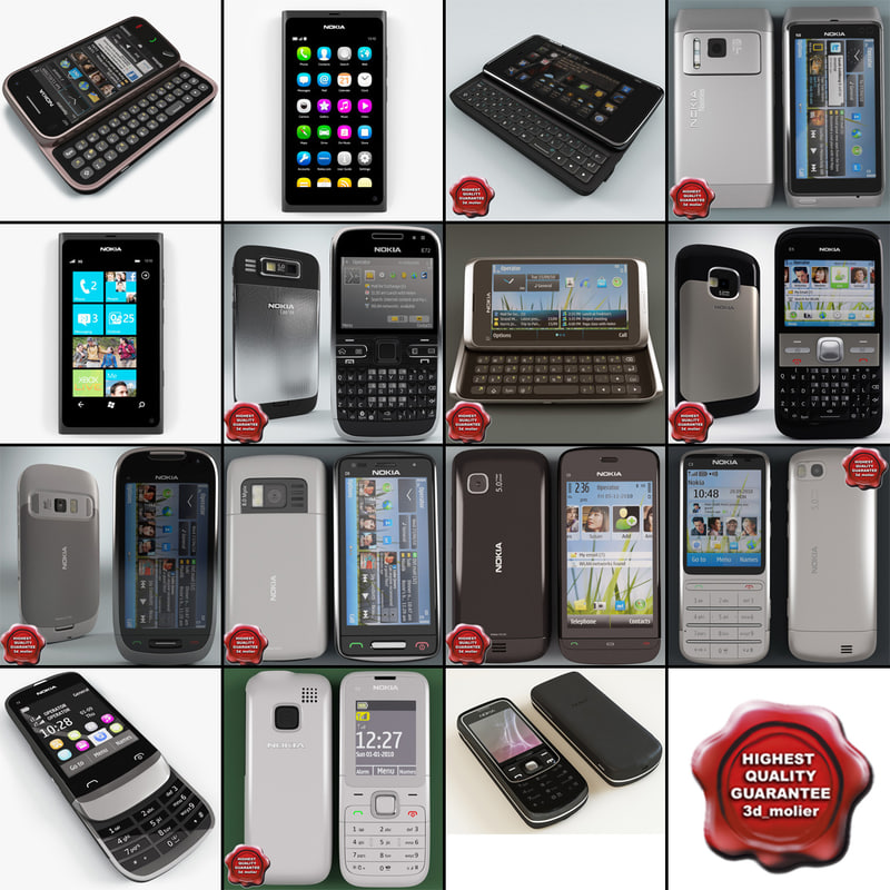 3d nokia phones v12 model