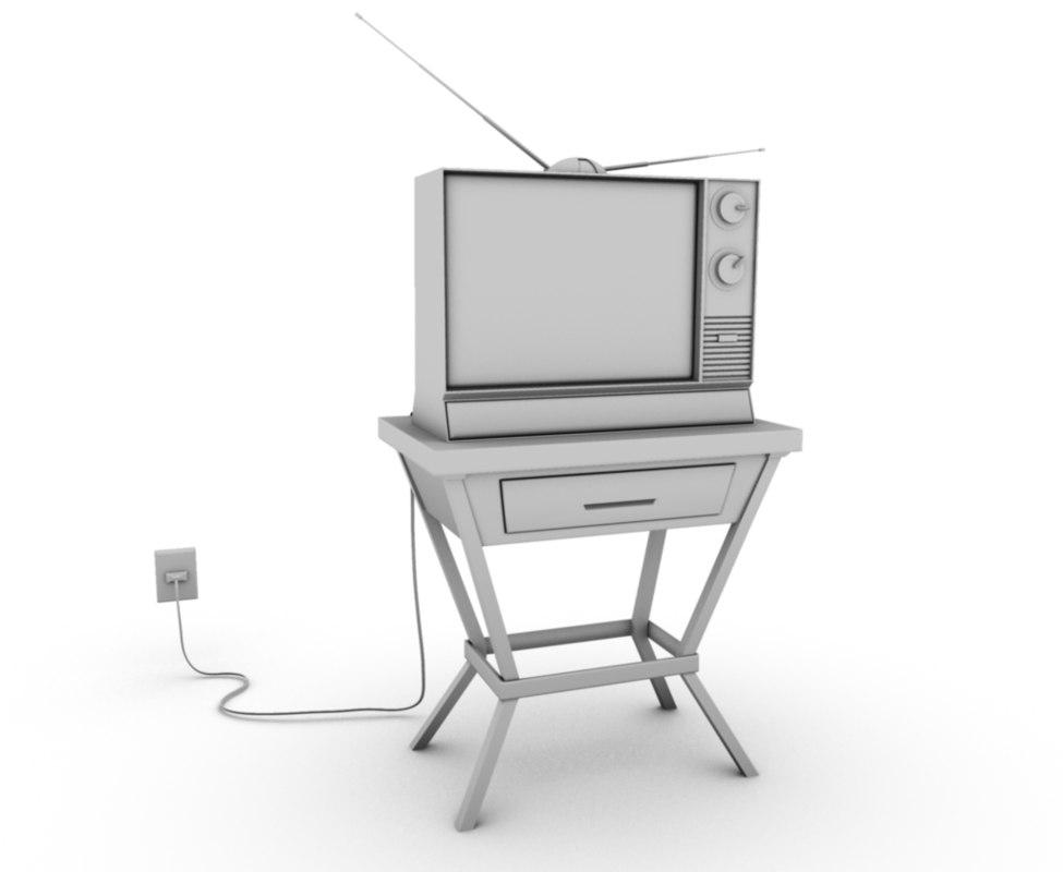 obj old tv