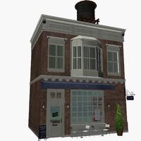3d shop s model