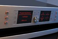 3d model bosh oven