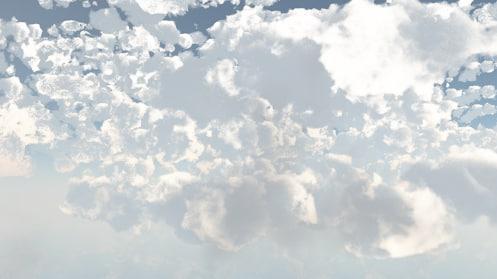 3d clouds vue 10 model