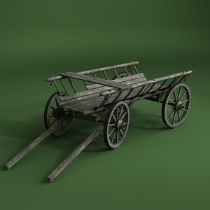 3d cart old model