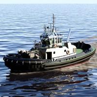pegasus harbor tug 3d x