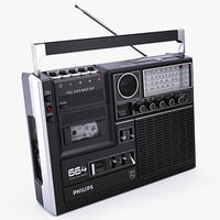 PHILIPS Model 664 Cassette Player