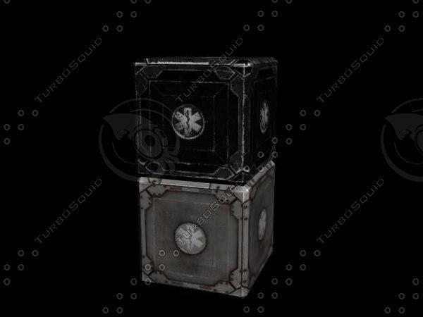 free crates 3d model