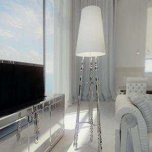 visionnaire dragonet floor lamp 3d model