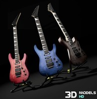3ds electric guitar 01