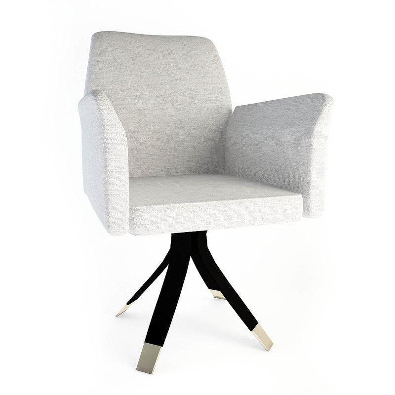 3d oak office chair sc