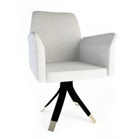Oak office chair SC 1024/a