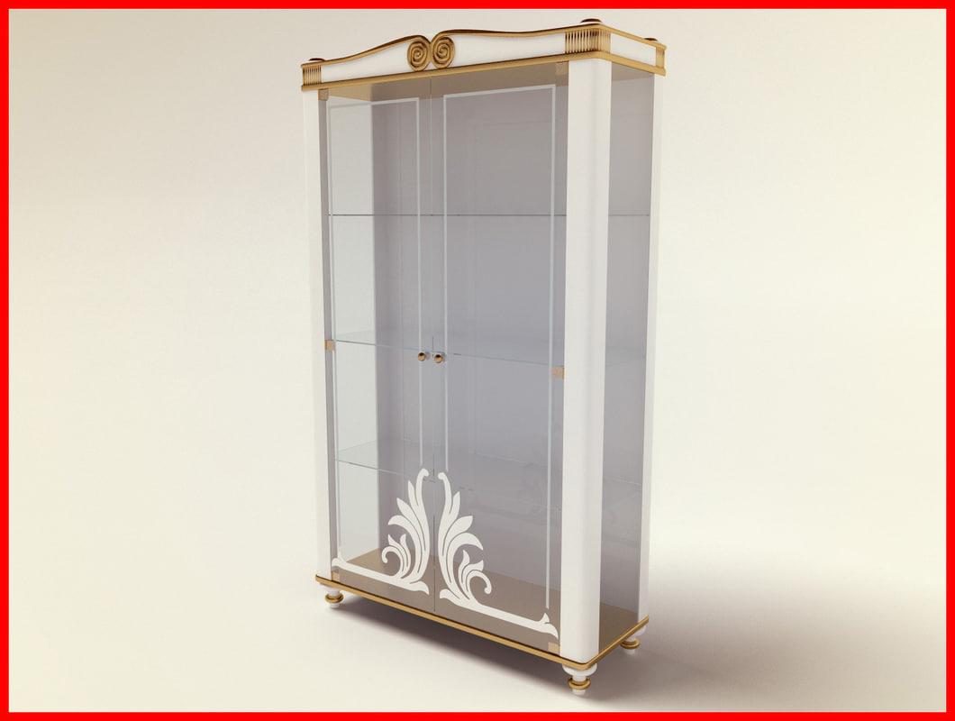 3d luxury showcase model