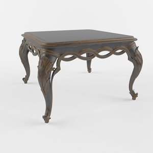 coffe table chelini ftbl 3d model