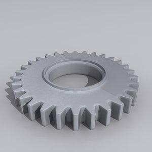 3d wheel mech gear