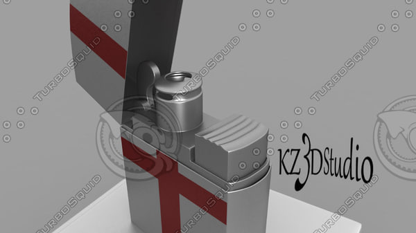 3d red cross lighter