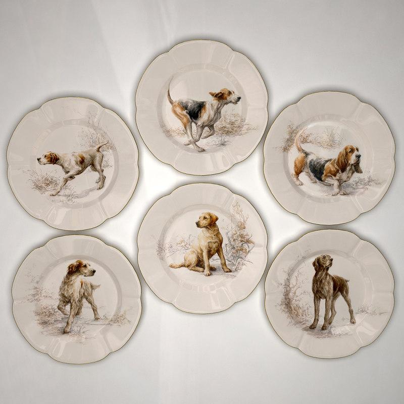 3d plates 1 model