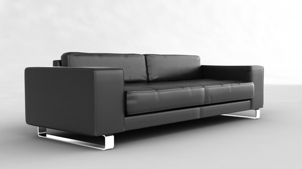 3d model hi european sofa