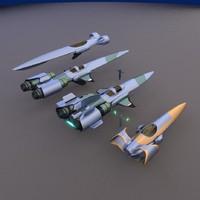 blender concept racers