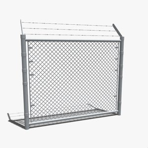 3ds max fencing wall