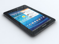 samsung galaxy tab 7 3d model