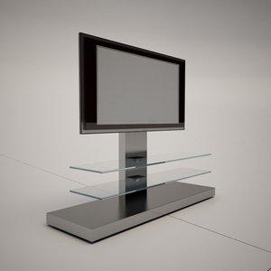 3d model cattelan italia panorama tv stand