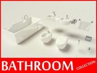 3dsmax bathroom toilet restroom