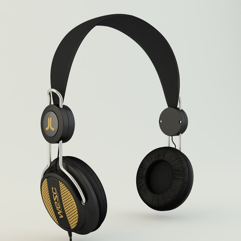 c4d wesc oboe headphone