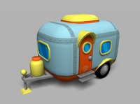 cartoon toy trailer x