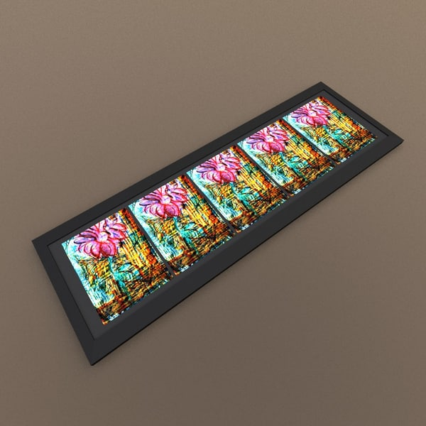 3dsmax flower frame