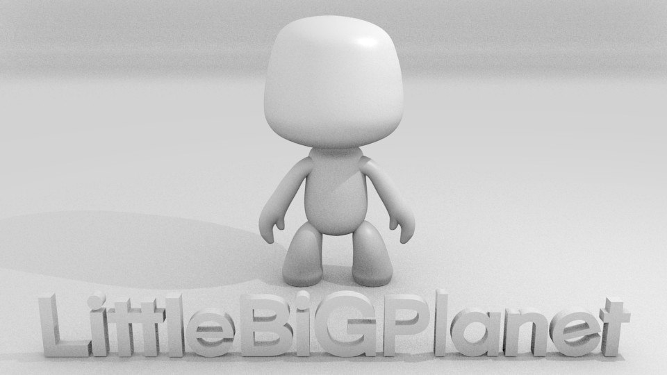 little big planet 3d obj