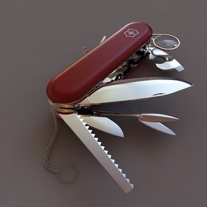 3d swiss knife