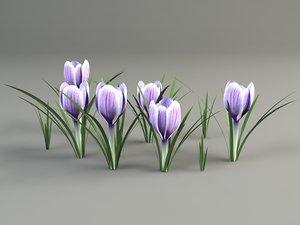3ds max flower