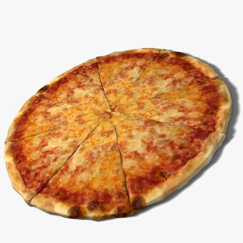 3d Model Cheese Pizza