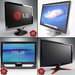 3ds max computer monitors v1