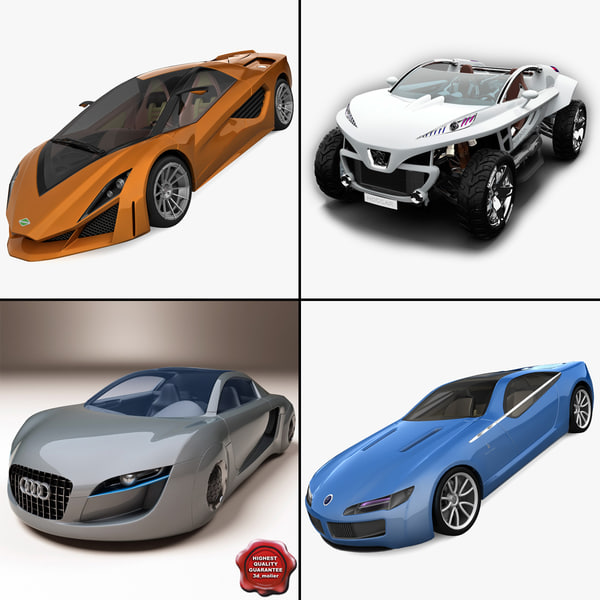 3d concept cars v2