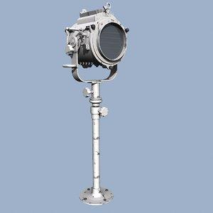3ds marine signal lamp