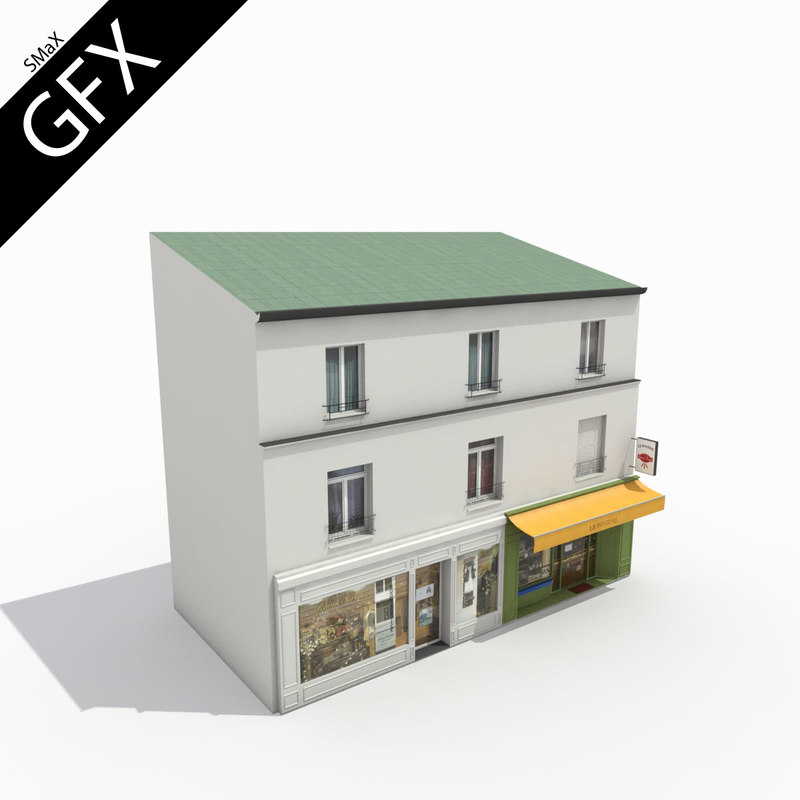 3dsmax building french 001