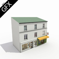 French City Building 001