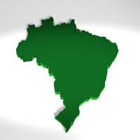 3d brazil soccer