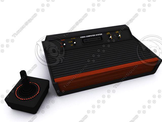 3d model console joystick