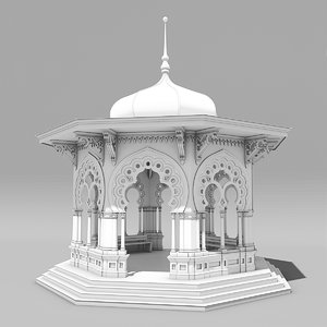 modular park 3d model