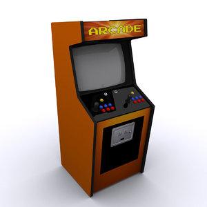 3ds max arcade machine