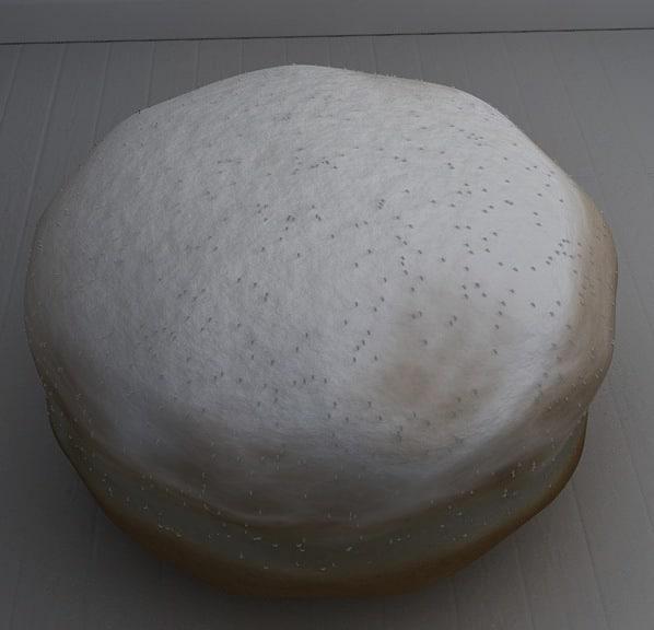 3d model krapfen cream