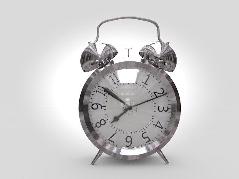 3d alarm clock