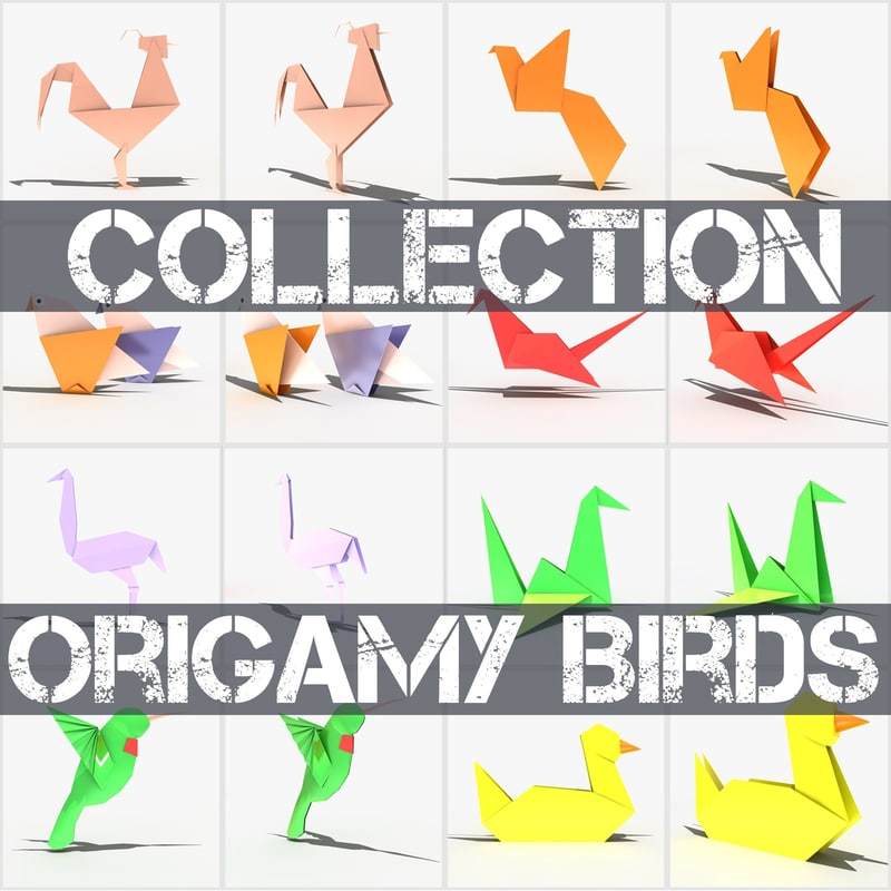 max origami birds