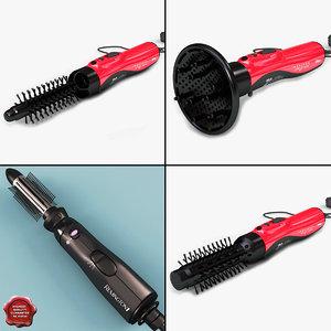 3d hairdryers v1