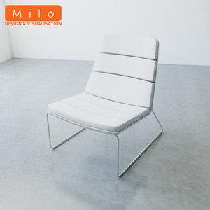 3d model of orangebox lounge chair