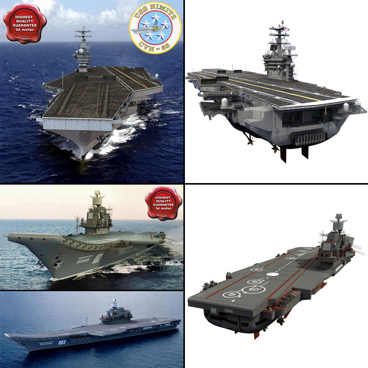 3d supercarriers carrier